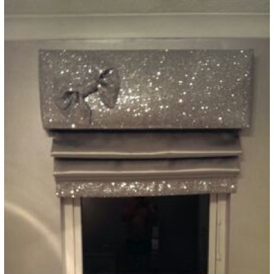Glitter blinds and pelmets