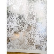 Hothouse Silver White (HOT S/W) Wallpaper