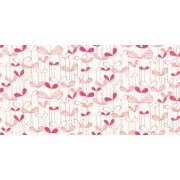 Saplings Cream/Pink (MISP1011) Wallpaper