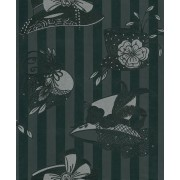 Harriette Rich Ebony (OMCC09104) Wallpaper