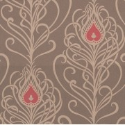 Greta Choc Rose (W211/01) Wallpaper