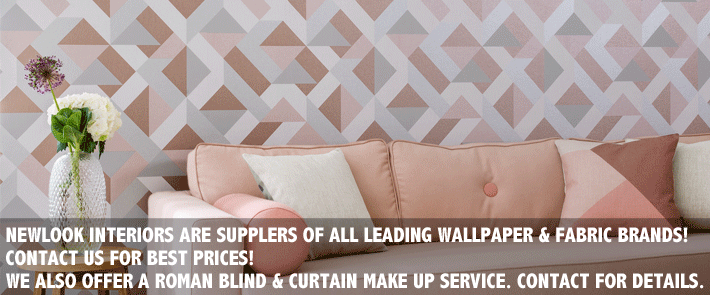 Designer Wallpaper Fabric Newlook Interiors